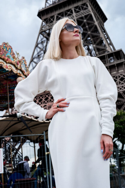 Sukienka biała MB