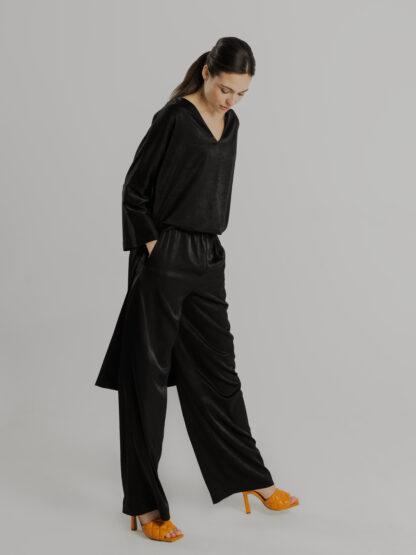 Spodnie Black Cher