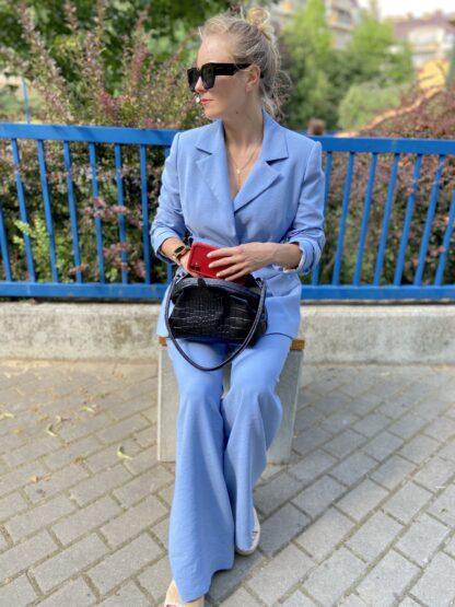 Niebieski garnitur MB