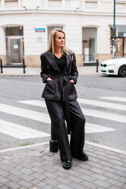 Jeansowy garnitur